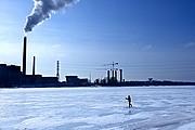 Foto de Helsinki, Finlandia - Esquí de travesía y northern walking por el mar helado