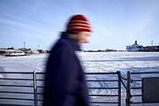 Photo of Helsinki, Pohjoissatama pier, Finland - Muelle de Pohjoissatama