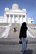 Photo of Helsinki, Luther Cathedral, Finland - Catedral Luterana en plaza del senado