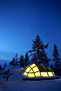 Hotel Kakslauttanen, Laponia, Finlandia