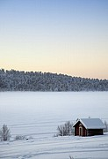 Lago Inari, Lago Inari, Finlandia