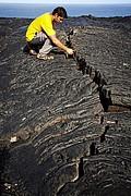 Coladas de lava, Reunion, Reunion