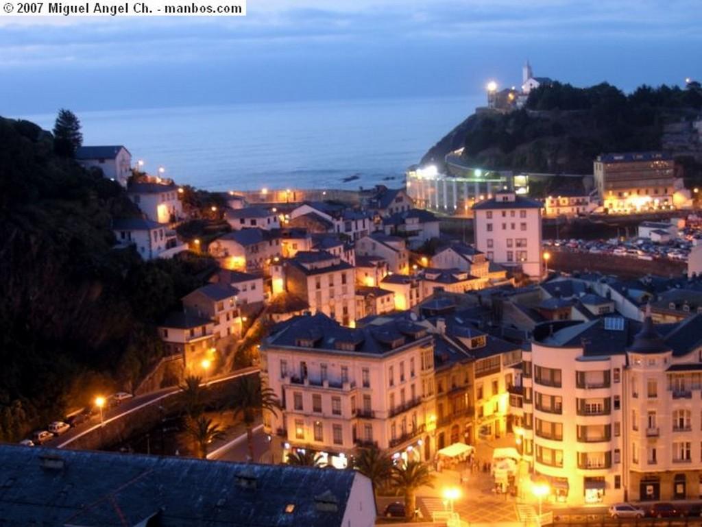 Luarca Panoramica puerto Luarca Asturias