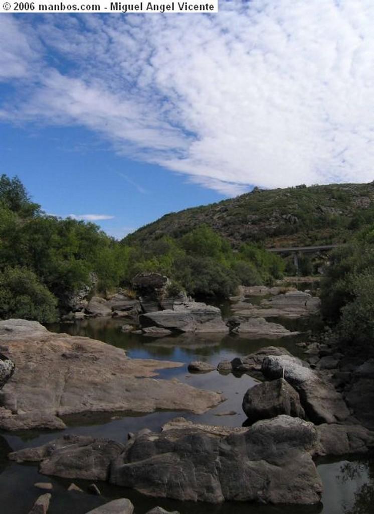 Aldeadavila de la Ribera Rio Duero - Arribes del Duero Salamanca