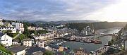 Camara Olympus 5060 WZ Panoramica puerto Luarca Miguel Angel Vicente LUARCA Foto: 15121