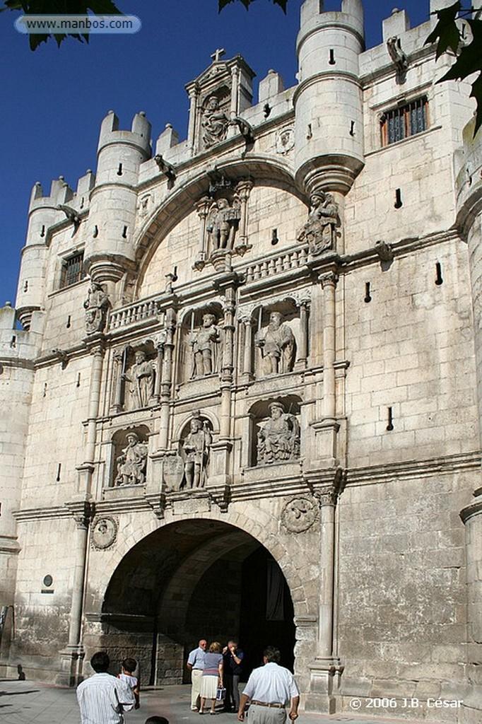 Burgos Arco de Santa María Burgos