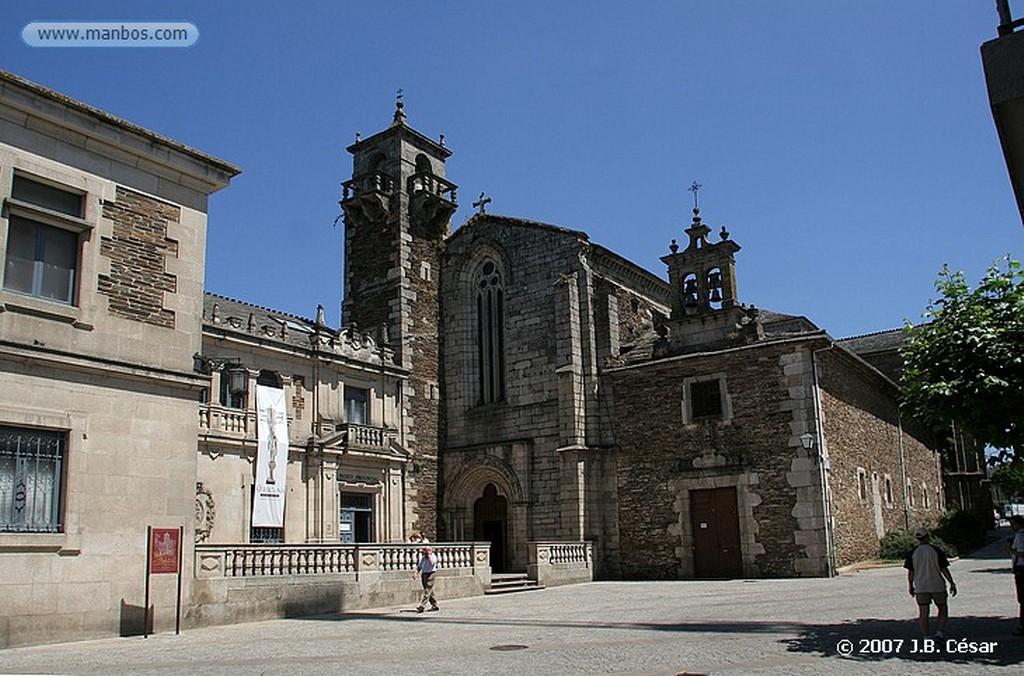 Lugo Claustro del Convento de San Francisco (Museo Provincial) Lugo
