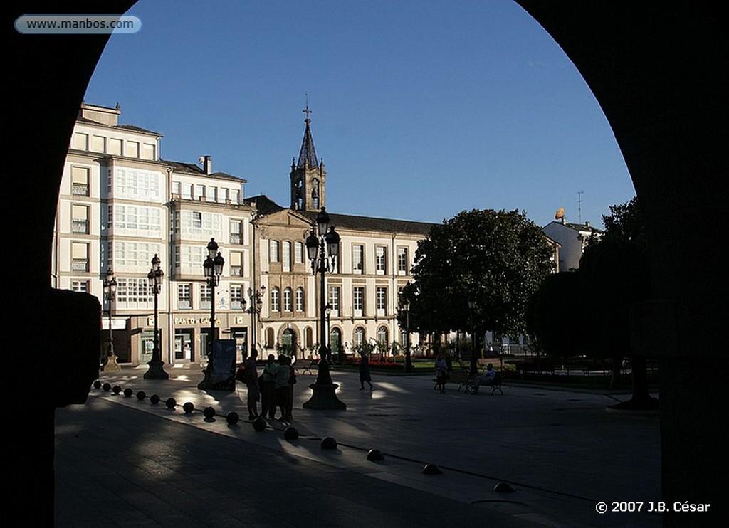 Lugo Plaza Mayor Lugo