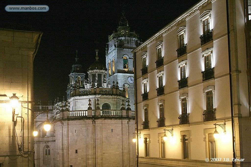 Lugo Plaza Mayor y Catedral Lugo