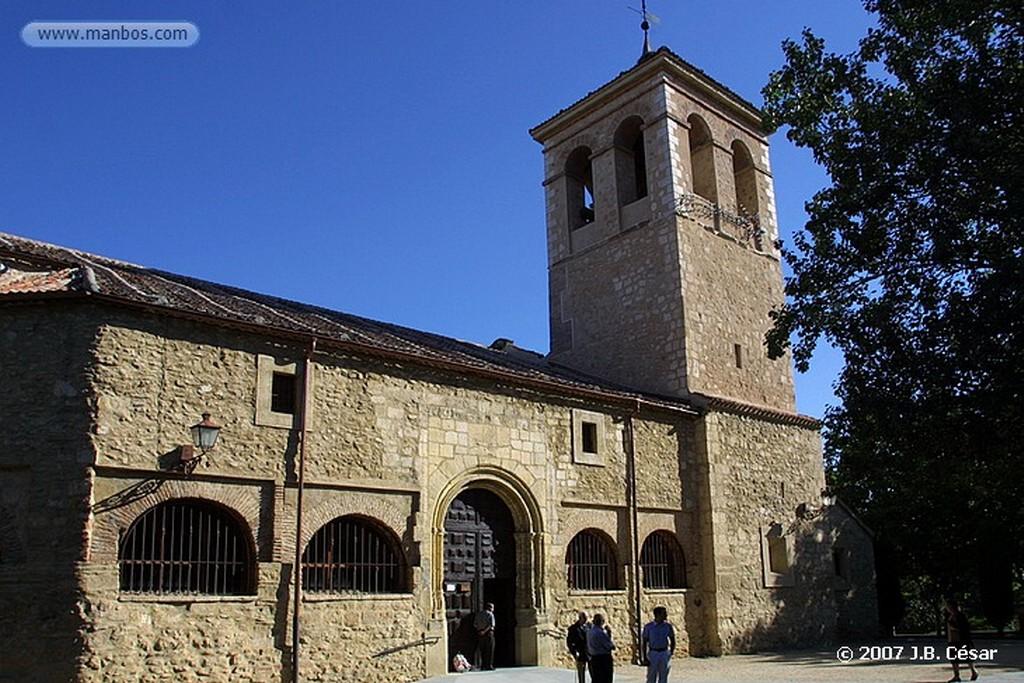 Segovia Iglesia de San Milano Segovia