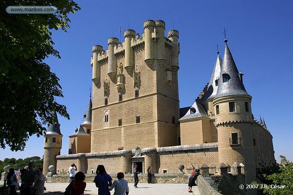 Segovia Vista general sobre la catedral Segovia