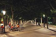 Paseo del Espolon, Burgos, España