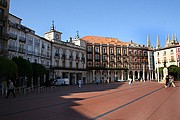Plaza Mayor de Burgos, Burgos, España