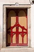 Puerta en la Rua Nova, Lugo, España