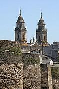 Camara Canon EOS 350D DIGITAL Muralla y Catedral Lugo LUGO Foto: 13861