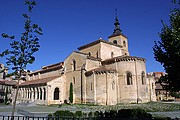 Iglesia de San Milano, Segovia, España