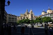 Plaza Mayo, Segovia, España