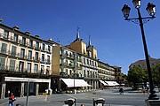 Plaza Mayor de Segovia, Segovia, España