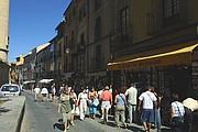 Calle Marques del Arco, Segovia, España