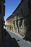 Calle Daoiz, Segovia, España
