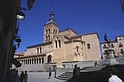Iglesia de San Martin, Segovia, España