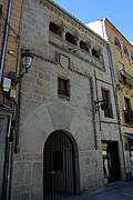 Casa del siglo XV, Segovia, España