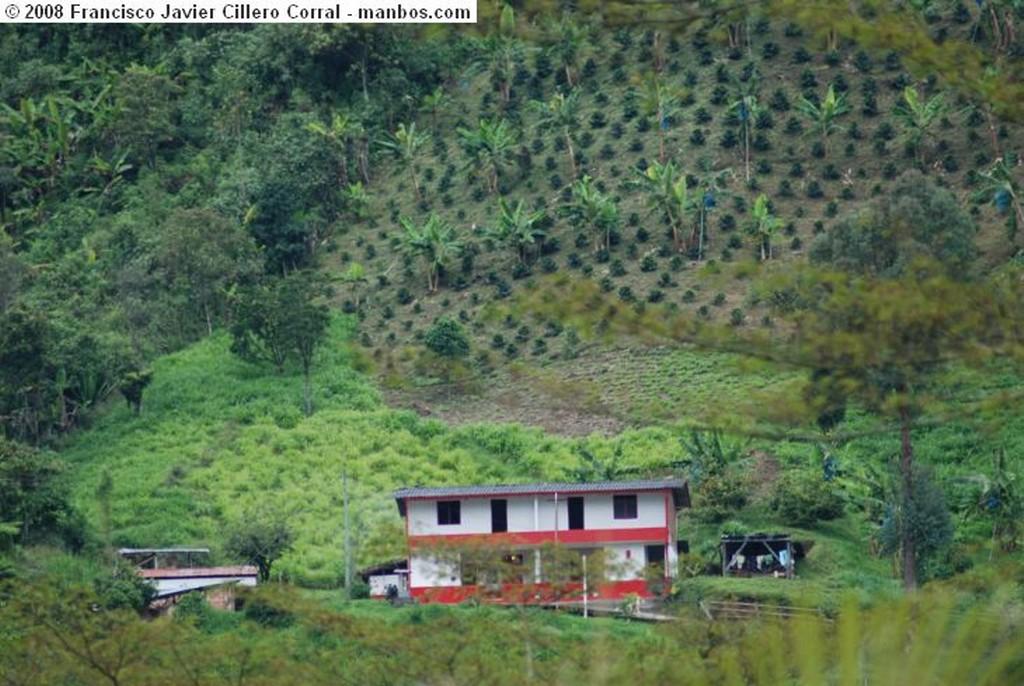 Jardín Espectacular vista desde del Farallón del Zitará Antioquia