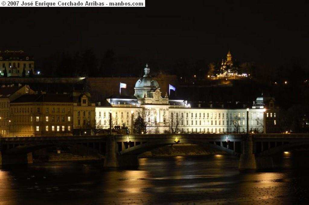 Praga Desde puente Carlos V Praga
