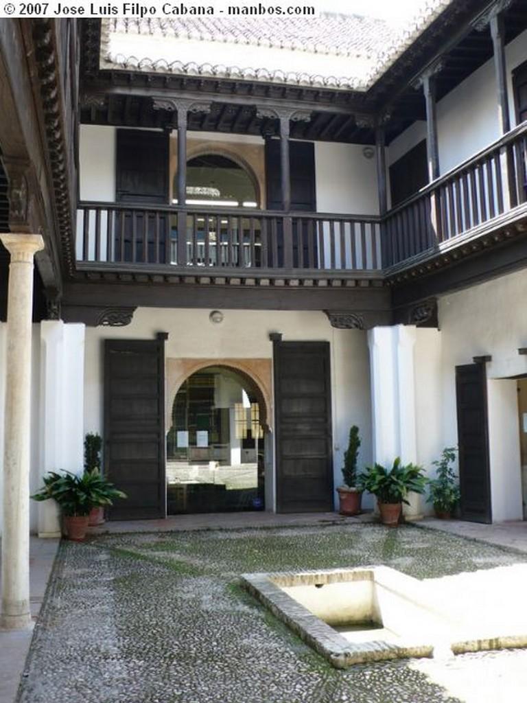 Granada Patio de las abluciones Granada