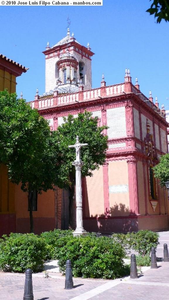 Sevilla Balcon del Palacio del Rey don Pedro Sevilla