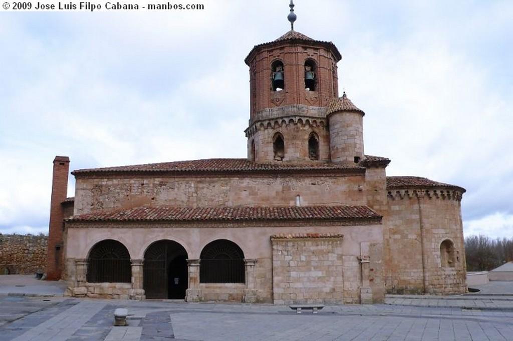 Almazan Iglesia de San Miguel (s. XII) Soria