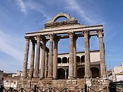 Templo de Diana, Merida, España