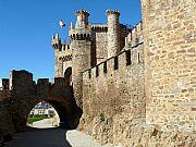 Castillo de los Templarios, Ponferrada, España