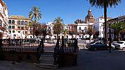 Plaza de San Fernando, Carmona, España