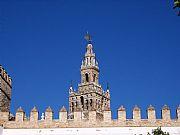 Patio de Banderas, Sevilla, España