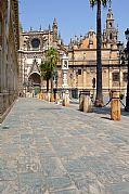 Plaza del Triunfo, Sevilla, España