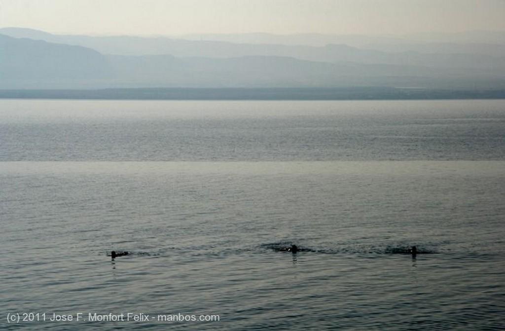 Mar Muerto Atardecer Jordania