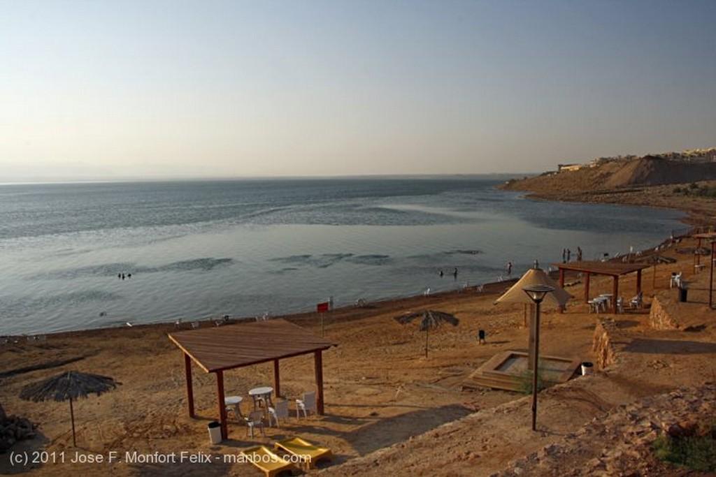 Mar Muerto Mucho calor Jordania