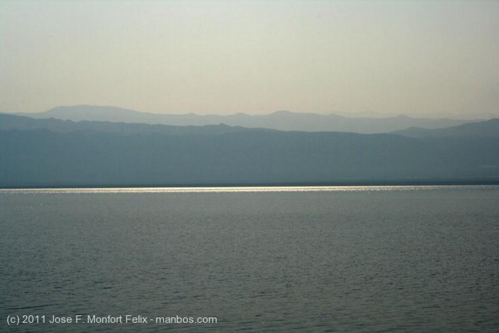 Mar Muerto Ocaso Jordania