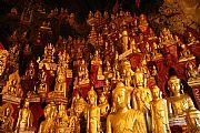 Cueva de los Budas, Pindaya, Myanmar