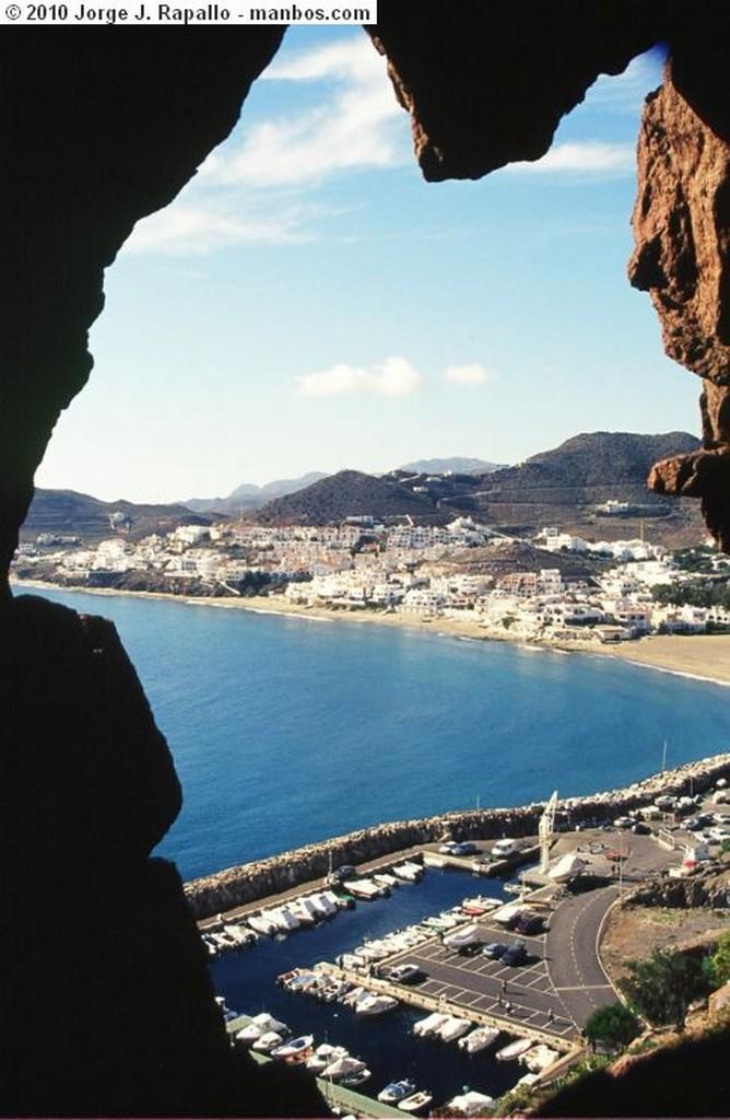 Parque Natural Cabo de Gata Columna de Basalto Almeria