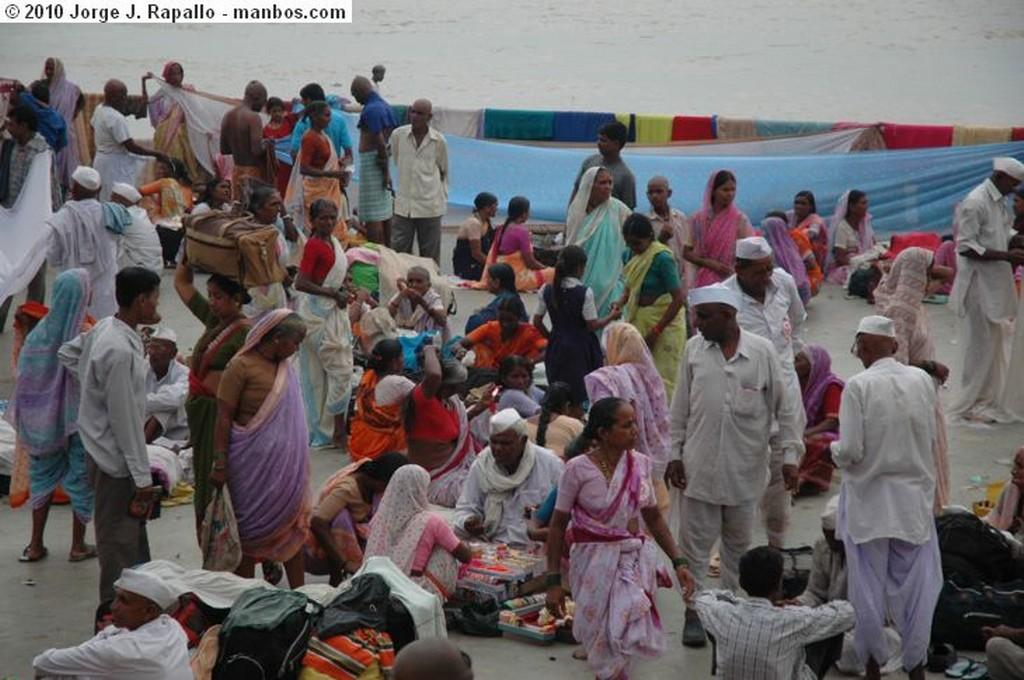 Varanasi Ofrenda Venares
