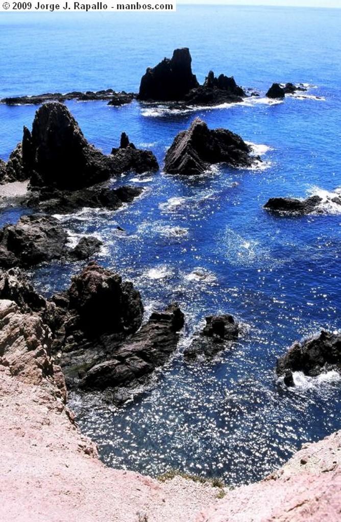 Cabo de Gata Volando sobre el mar Almeria