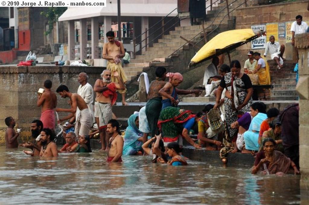 Varanasi Amanecer en el ganges Varanasi