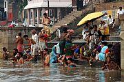 Rio Ganjes, Varanasi, India