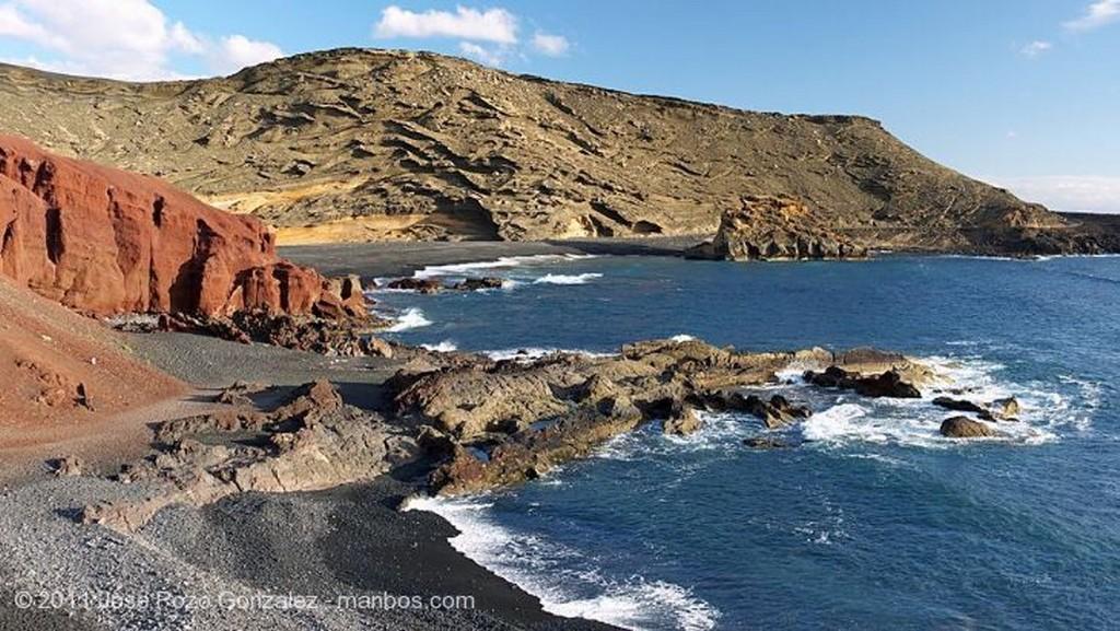 El Golfo Charco de los Clicos Lanzarote