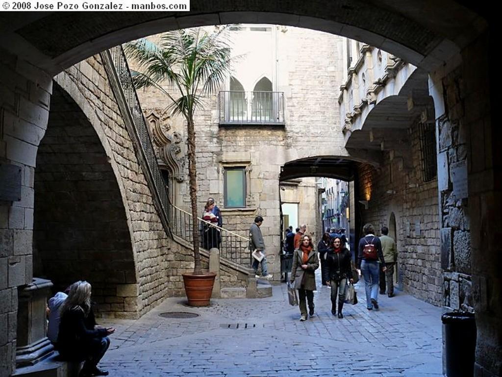 Barcelona Exotismo Frente al Museo Barcelona