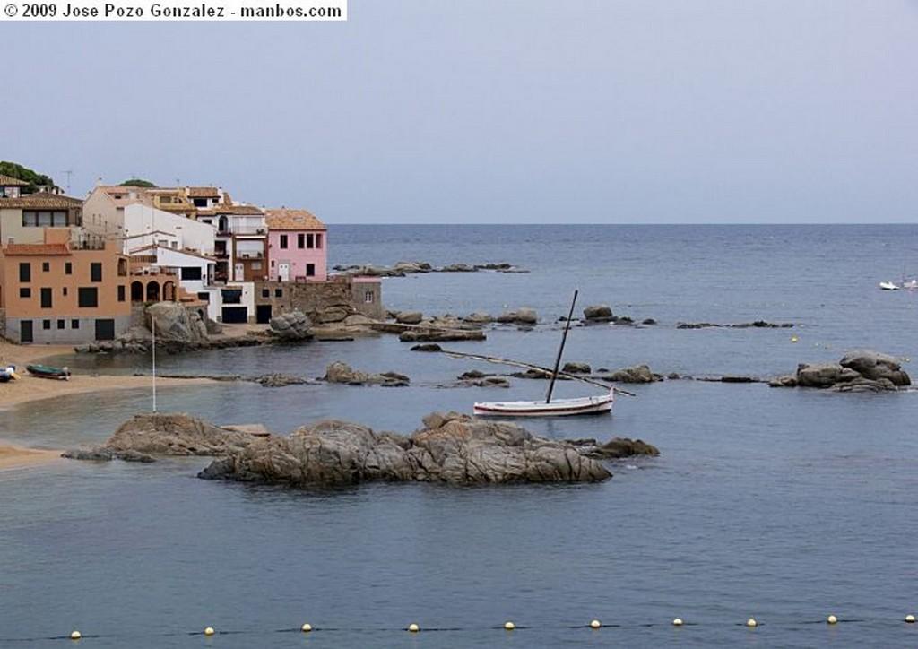 Calella de Palafrugell Panorama de Calella Gerona
