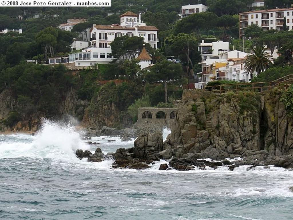 Calella de Palafrugell Tormenta Marina Girona