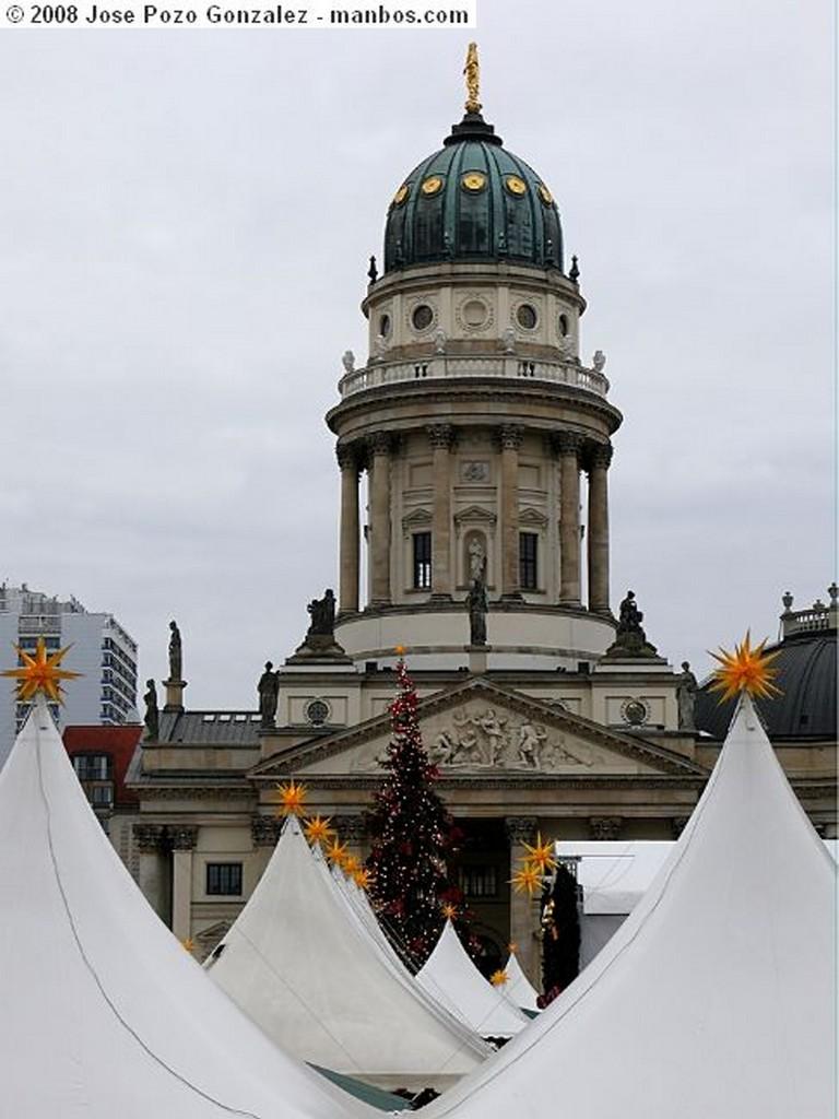 Foto de Berlin, Gendarmen Markt, Alemania - Dulce Navidad
